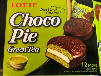 Choco pie green tea - Produit - en