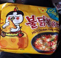 Hot chicken flavor ramen - Produit - fr