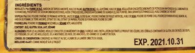 Hot chicken flavor ramen - Zutaten - fr