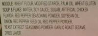 Buldalk Bokkeummyeon - Ingredients - en