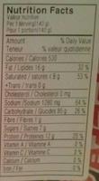 Buldalk Bokkeummyeon - Nutrition facts - en