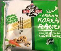 Nouilles Coréenne Goût Légumes - Product - fr