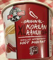 XL original korean ramen cup gout Piquant - Produit