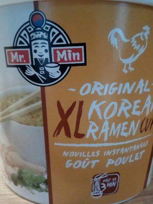 Original korean ramen cup - Produit