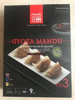 Gyoza Mandu aux Piment Rouge et Légumes - Produit - fr