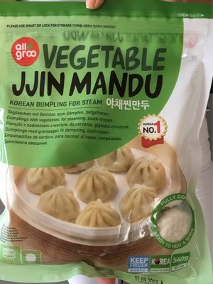 Vegetable Jjin Mandu - Produit - fr