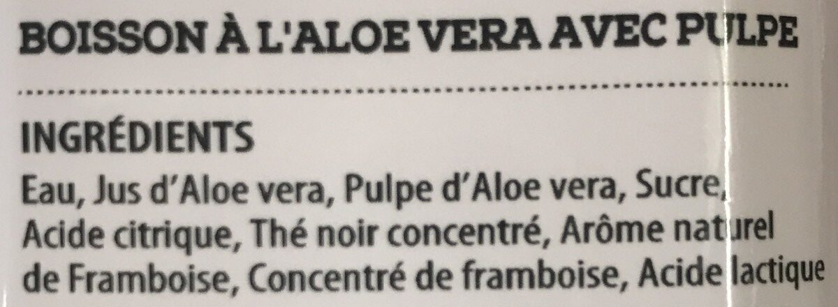 Aloe Vera - Ingredients - fr