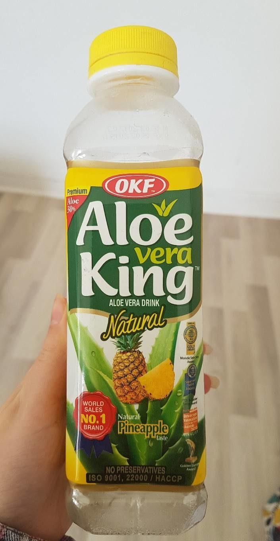 Okf Boisson Aloe Vera King Ananas - Produit
