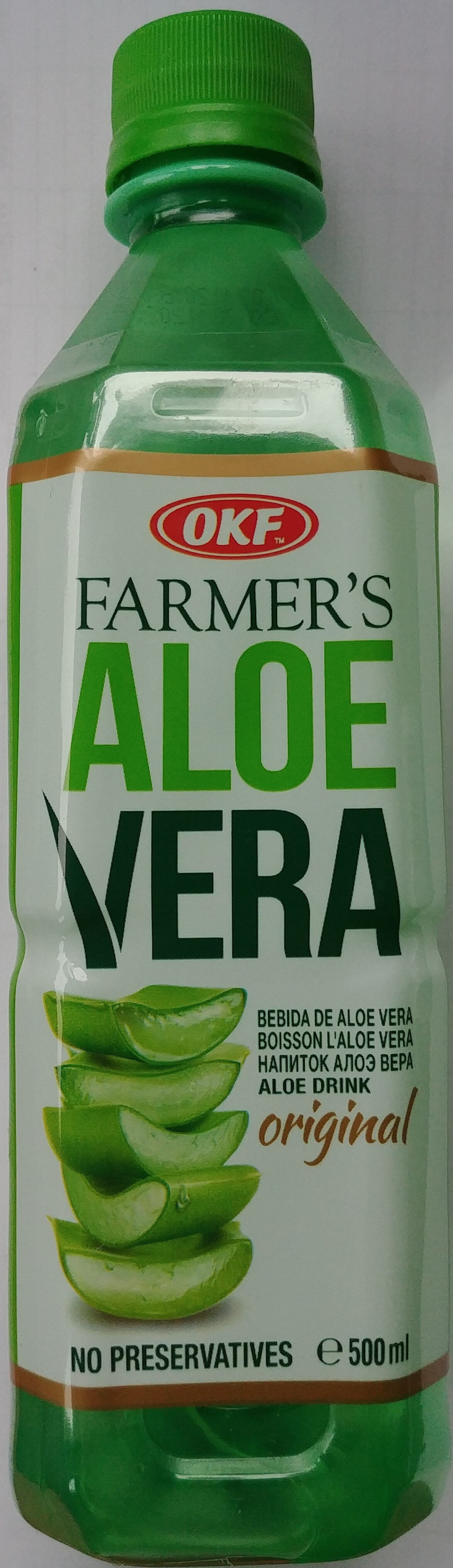Napój Farmer's Aloe Vera - Produkt - pl