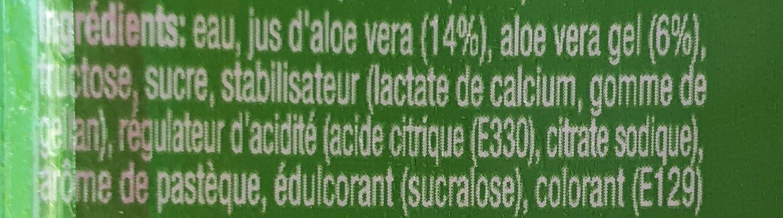 Farmer's Aloe Vera - Ingrédients - fr