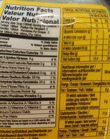 Aloe Vera Mango - Informations nutritionnelles - fr