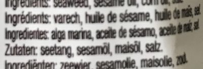 Roasted Seaweed Snack - Ingredienti - fr