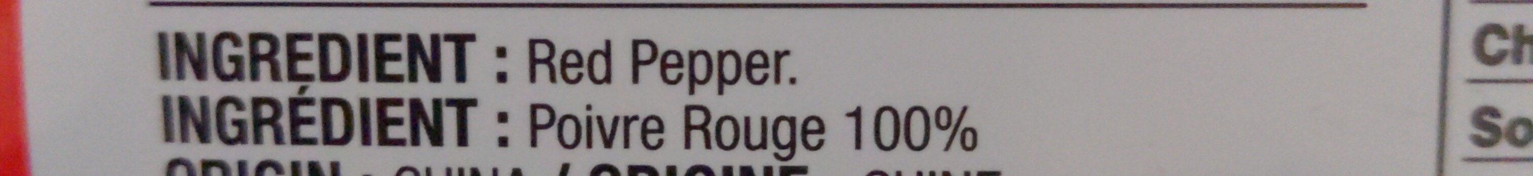 Taekyung Red Pepper Powder - Ingredients - en