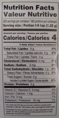 Taekyung Red Pepper Powder - Nutrition facts