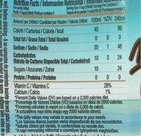 Pure Plus Coco - Nutrition facts - pl