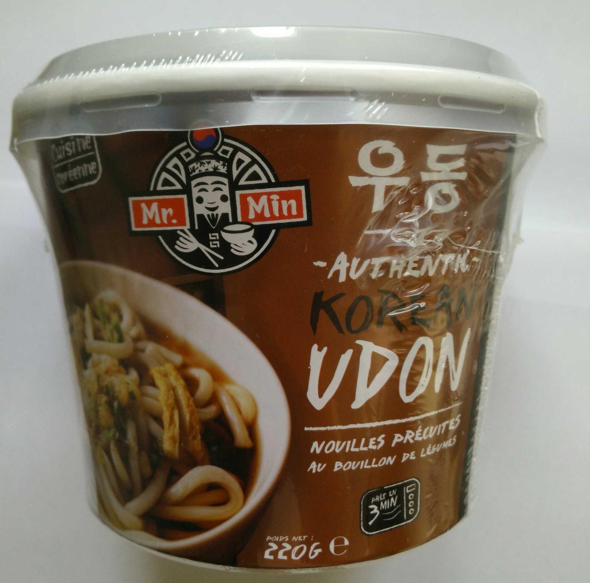 Authentic Korean Udon - Produit