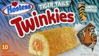 Hostess Tiger Tails Golden Sponge Cake With Orange Creme Filling Twinkies - Prodotto - en