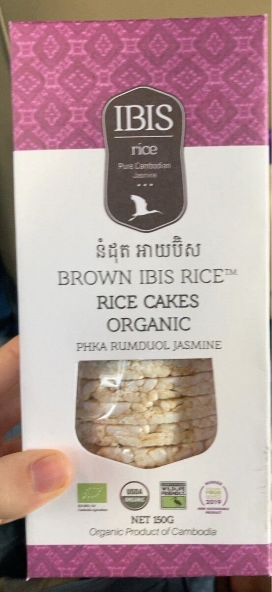Rice Cakes Organic - Product - fr