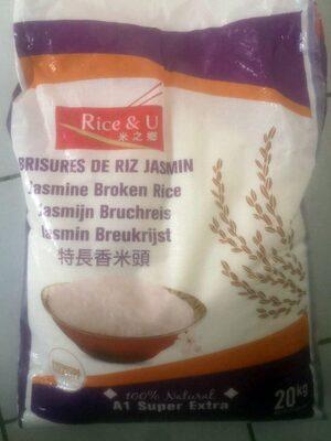 Brisures de riz jasmin - Prodotto - fr