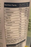 Sovannak Palm Sugar - Nutrition facts - fr