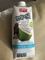 Ufc Coconut Water - Voedingswaarden