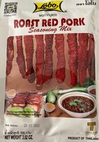 Roast red pork - Produit - fr