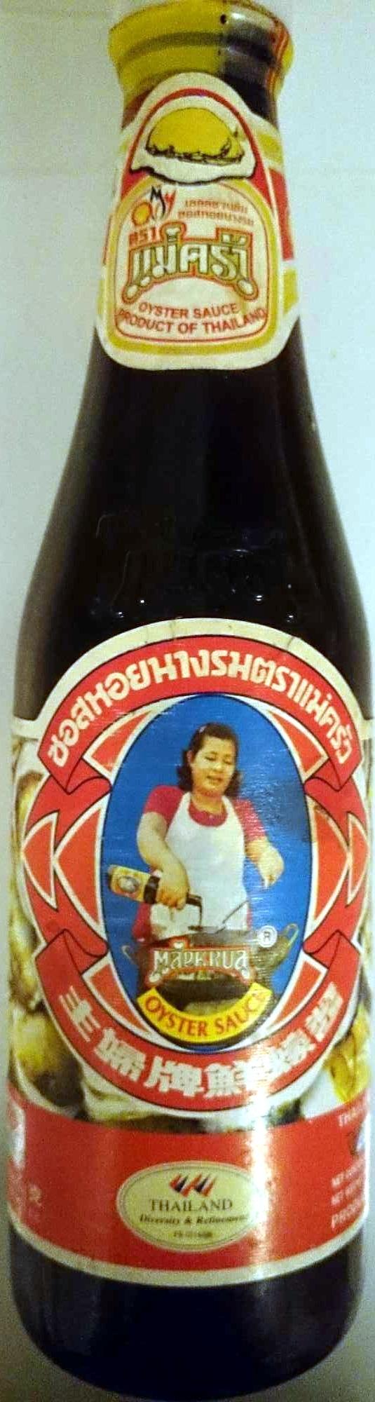 Maekrua, Oyster Sauce - Product