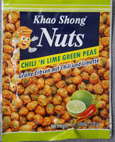 Chili'n Lime Green Peas - Product