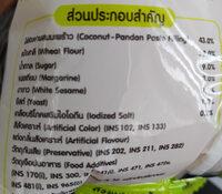 ขนมปังไส้สังขยามะพร้าว - Ingrédients - th