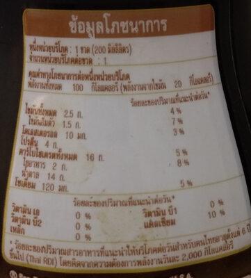 เนสกาแฟ ลาเต้ - Nutrition facts