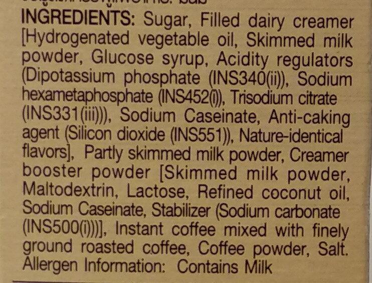 เนสกาแฟโกลด์ คาปูชิโน - Ingredients