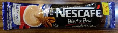 เนสกาแฟ เบลนด์ แอนด์ บลิว สูตรไม่เติมน้ำตาล - Product