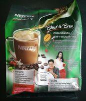 เนสกาแฟ เบลนด์ แอน บลิว 3 in 1 - Produit