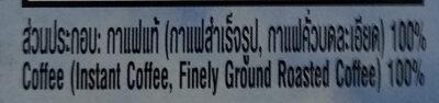 เนสกาแฟเรดคัพ - Ingredients