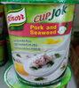 คัพโจ๊ก หมูสับสาหร่าย - Product
