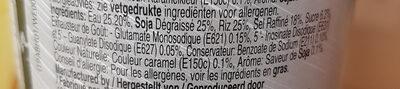sauce soja gluten free - Ingrediënten