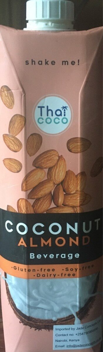 Coconut Almond beverage - Product - fr