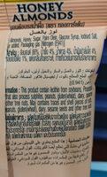 อัลมอนด์ รสน้ำผึ้ง - Ingrediënten - th