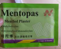 Mentopas - Product - km