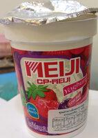 โยเกิร์ตรวมเบอร์รี่ ตราเมจิ - Product