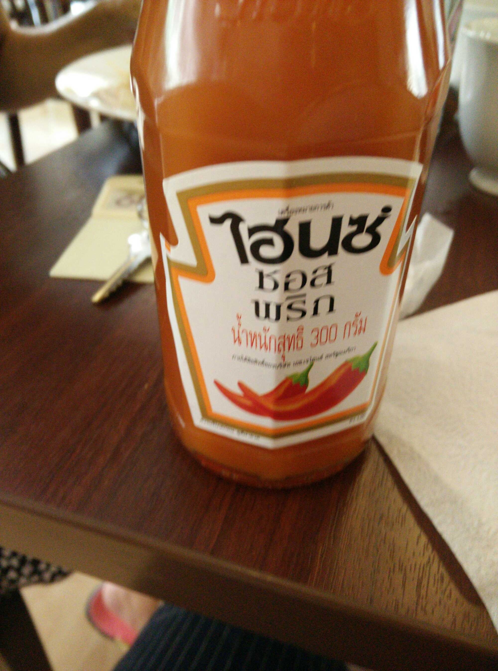 chili sauce - Product