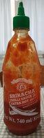 Sriracha Chili Sauce - Producte - es