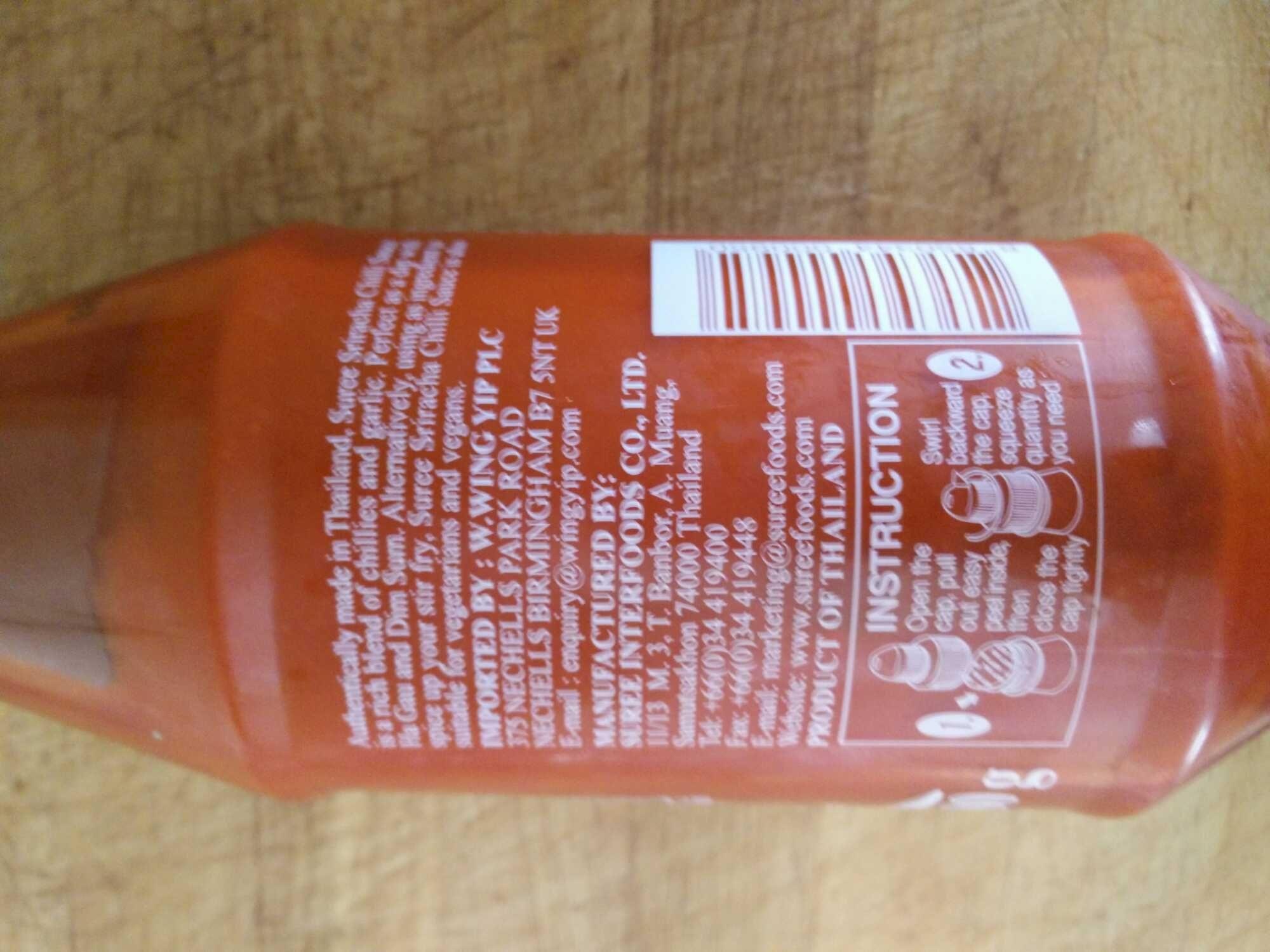 Chilli sauce - Product - en