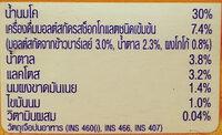 โอวัลติน - Ingredients