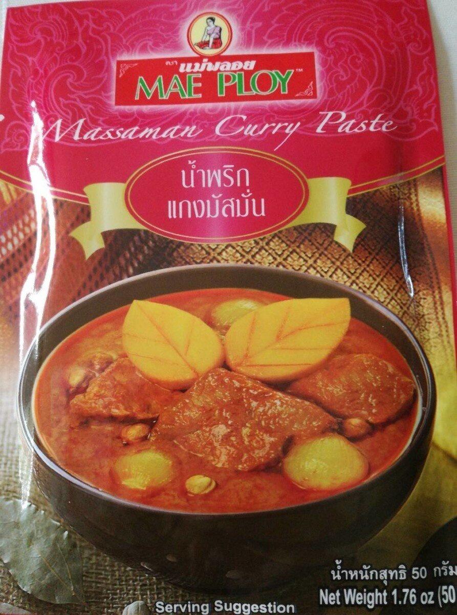 Mae ploy, masman curry paste - Product - en