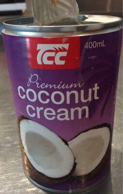 Coconut cream - Product