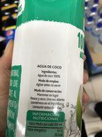 Agua de coco - Ingrediënten