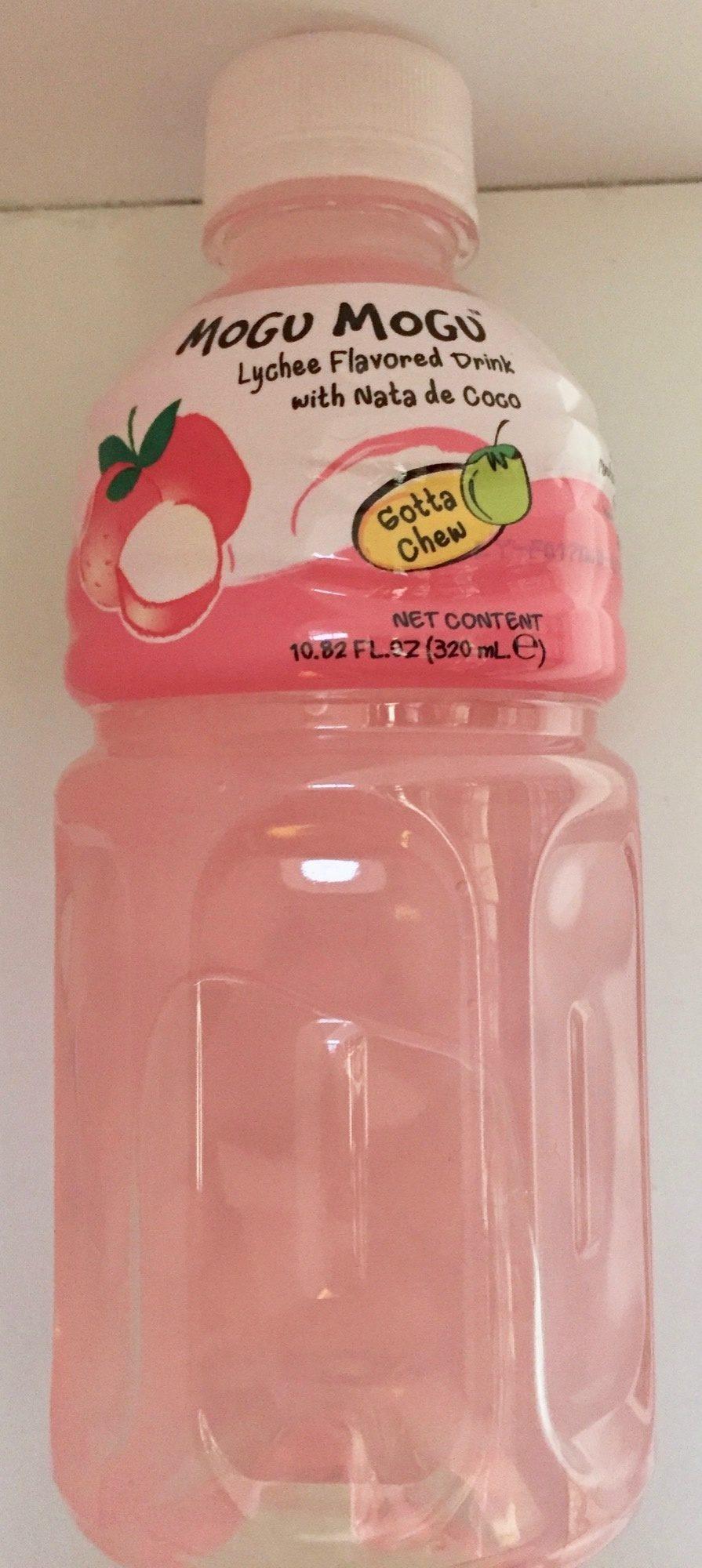 Mogu mogu, lychee juice, lychee - Producto - es