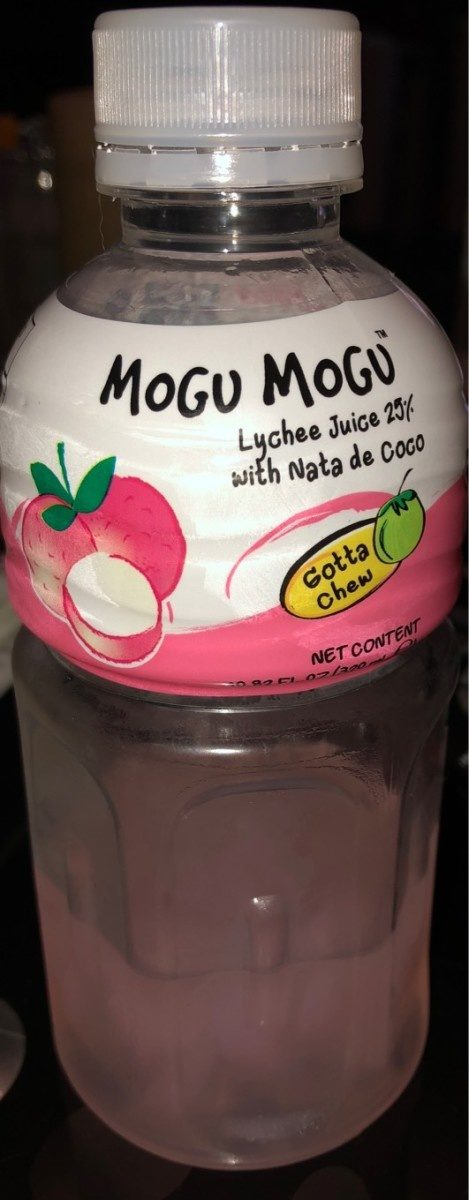 Mogu mogu, lychee juice, lychee - Produit - fr