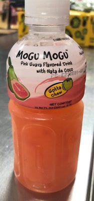 Mogu Mogu, Flavored Drink, Pink Guava - Product